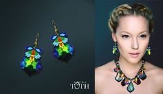 Earrings by Petra Toth Jewellery. Petra, Fashion Beauty, Jewellery, Earrings, How To Make, Collection, Art, Creative, Ear Rings