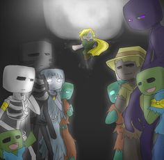 Minecraft Drawings, Minecraft Pictures, Minecraft Mobs, Skeleton, Comics, Awesome, Classic, Fun, Fictional Characters