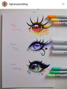 Realistic Drawings Mythical Creatures - Eye Edition by Lighane - Amazing Drawings, Beautiful Drawings, Cute Drawings, Drawing Faces, Anime Eyes Drawing, Wolf Drawings, Manga Eyes, Unicorn Drawing, Fantasy Drawings