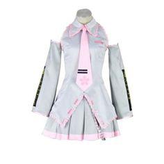 Vocaloid Family Cosplay Costume - Sakura Hatsune Miku 2nd-SilSmall - List price: $136.68 Price: $88.84