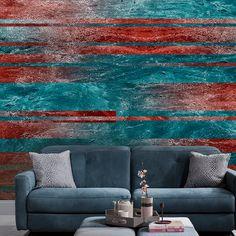 #ConcreteEffect #blue #red #linear #Divas Diva Design, Divas, Love Seat, Blue, Furniture, Collection, Home Decor, Decoration Home, Room Decor