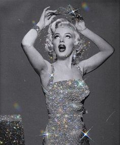 @marilynmonroe - Woman made from diamonds and everything out of light