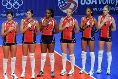 London 2012:  U.S. Women's Volleyball Team wins Silver Medal