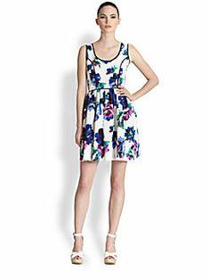 Shoshanna - Belrose Floral Seely Dress