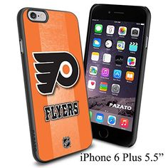 """NHL FLYERS , Cool iPhone 6 Plus (6+ , 5.5"""") Smartphone Case Cover Collector iphone TPU Rubber Case Black Phoneaholic http://www.amazon.com/dp/B00VXEHGWW/ref=cm_sw_r_pi_dp_o-Bnvb0FNZWWQ"""