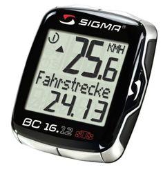 1 Sigma BC 16.12 STS Ordenador Bicicleta Bici Cuentakilometros sin cable wifi
