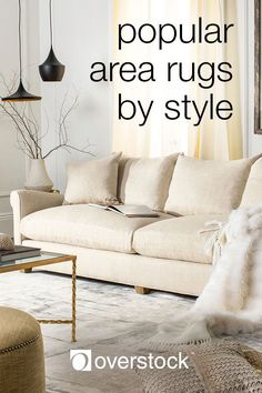 No matter the pattern, each area rug style has something unique to offer that will keep your home decor focused. Whether you have wall-to-wall carpeting, tile, or wood flooring, adding a stylish area rug to your home will not only protect your floors, but also give your decor a finished look. Check out this list of the top 10 most popular area rug styles to help take your home decor to the next level.