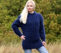 Mohair Sweater, Cable Knit Sweaters, Handgestrickte Pullover, Icelandic Sweaters, Angora, Shawls And Wraps, S Models, Mantel, Hand Knitting