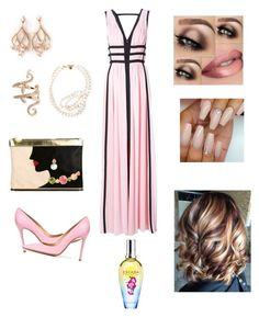 """Untitled #807"" by denaye-mo on Polyvore featuring Charlotte Olympia, Nicole Miller, Gianvito Rossi, Elise Dray, Shaun Leane, STELLA McCARTNEY and ESCADA"