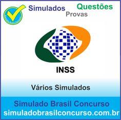 Concurso INSS 2014.  Novos Simulados e Questões do INSS 2014.  http://simuladobrasilconcurso.com.br/simulados/concursos/?filtro_concurso=7  #SimuladoBrasilConcurso, #ProvaInss