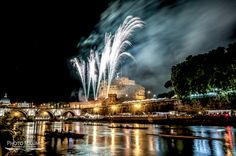 Castel Sant'Angelo nel Roma, Lazio photo & editing by www.photomaximo.it #roma #rome #fuochidartificio #fireworks