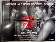 THE MOST DESIRED MAN -TIL SCHWEIGER / RALPH KONIG- ORIGINAL UK QUAD MOVIE POSTER