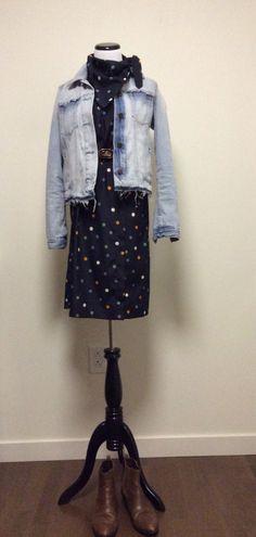 A personal favorite from my Etsy shop https://www.etsy.com/listing/500053151/polka-dot-bandana-dress