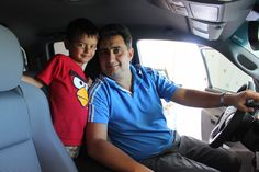 New Tacoma Owner Angel with son Diego / Photo: Madeleine Bergstrand