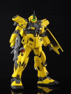 HGUC 1/144 RGM-79C GM Type C [WAGTAIL]  Modeled by GMquel        CLICK HERE TO VIEW FULL POST...