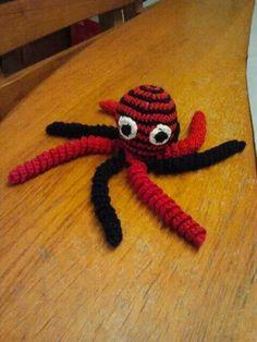 Dit inktvisje is  gemaakt door Annette Gerrits.
