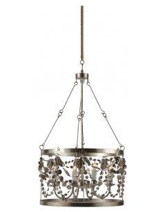Silver Garland Pendant