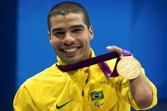 Daniel Dias, nadador brasileiro, seis medalhas de ouro nos Jogos Paralímpicos de Londres!
