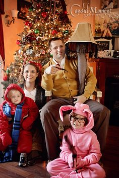 Great Christmas card idea! Can't wait for TBS's marathon of A Christmas Story!
