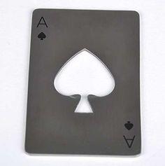 Ace Casino Bottle Opener - Silver   Buy Online in South Africa   TAKEALOT.com