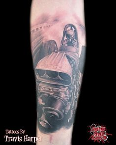 #tattoo #tattoos #dragster #racecar #racing #nascar #auto #car #cars #imperialbodyart #imperialboise #imperial #boise #idaho