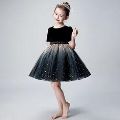 Little Girl Dresses, Girls Dresses, Flower Girl Dresses, Style Chinois, Tulle, Fashion Silhouette, Moda Fashion, Wedding Party Dresses, Designer Dresses
