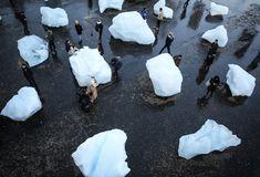 bjarke ingels + shigeru ban on new european bauhaus roundtable Tate Modern Gallery, Un Climate Change, Tate Modern London, On Thin Ice, Shigeru Ban, Olafur Eliasson, Ice Watch, Ice Blocks, Change Image