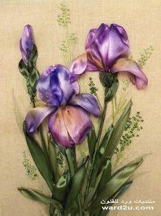 Floral Ribbon Iris