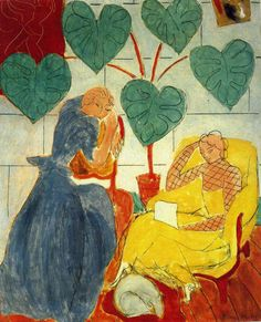 "urgetocreate: "" Henri Matisse, Two Women, 1939 """