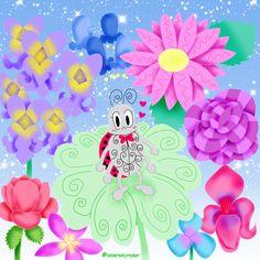 Cutiebug #bug #ladybug #illustration #art #artwork #digitalart