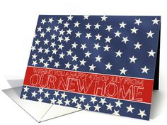 All Cards are $1.75 Each! Offer valid until 11:59pm (PST), Friday, May 29th 2015                 New Home/Address - Happy 4th of July stars
