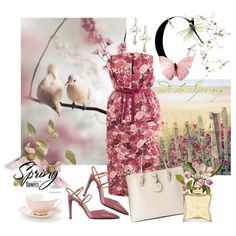 """Spring Flowers"" by jacque-reid on Polyvore"