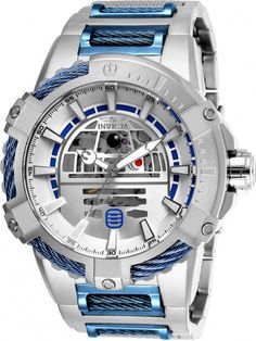 Invicta 26206 Mens Star Wars Automatic Multifunction Dial Watch, Silver, As Shown Stylish Watches, Luxury Watches For Men, Cool Watches, Star Wars Jewelry, Star Wars Merchandise, Star Wars Gifts, Mens Watches Leather, Watch Brands, Casio Watch