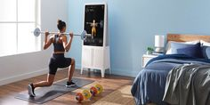High-Tech Exercise Equipment for Your Home Gym Add some brains to your brawn-building with these intelligent gym gadgets  #CapeCoral… Home Workout Equipment, Fitness Equipment, Fitness Gear, Home Gym Reviews, Indoor Rowing, Best Smart Home, Class Library, Dance Training, Group Fitness Classes