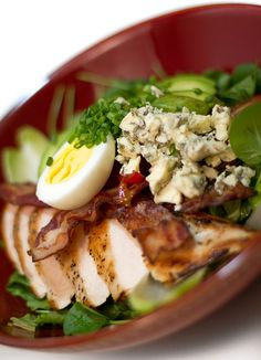 The Famous Cobb Salad / @DJ Foodie / DJFoodie.com