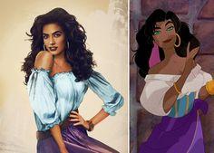 Disney Prinzen und Prinzessinnen im wirklichen Leben #disney #leben #prinzen #prinzessinnen #wirklichen