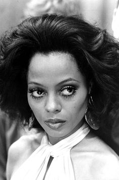 Diana Ross, lashes for days #lashbeauty #celebritymakeup