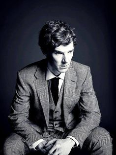 Benedict Cumberbatch- if I'm completely honest, it's entirely about the voice.. He's got a great voice.