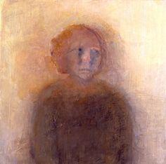Celia Paul ~ Margot Henderson, 2003 oil on canvas 46.3 x 46 cm