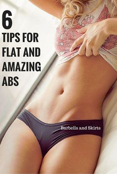 6 tips for awesome abs.