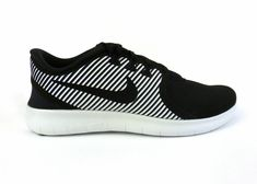 best sneakers 90b31 7c546 Nike men s Free RN Commuter running shoes sneakers trainers Black White  size 9.5  Nike