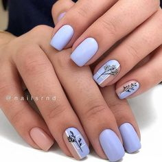 60 best natural short square nails design for summer nails - hairdressing . - 60 best natural short square nails design for summer nails – Hairdressing hairstyles … – 60 B - Cute Acrylic Nails, Cute Nails, Pretty Nails, My Nails, Oval Nails, Work Nails, Square Nail Designs, Short Nail Designs, Cute Nail Designs