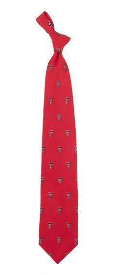 Texas Tech Red Raiders Prep Tie