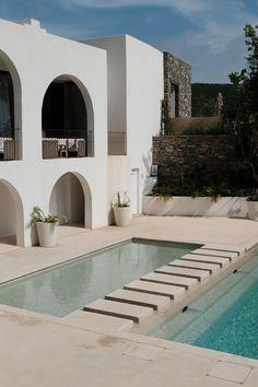 Morgane Leduc on Behance Architecture Design, Minimalist Architecture, Classical Architecture, Beautiful Architecture, Dream Home Design, My Dream Home, Exterior Design, Interior And Exterior, Modern Exterior