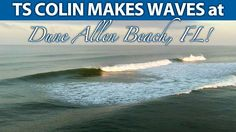 Tropical Storm Colin Makes Waves in Dune Allen Beach Florida