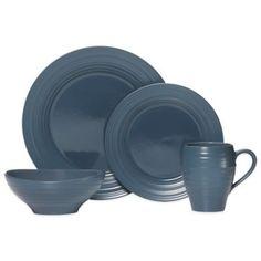 Amazon.com: Rachael Ray Cucina 16-Piece Stoneware Dinnerware Set ...
