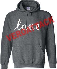 love dark grey color Hoodie