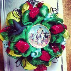 Wizard of Oz Wreath