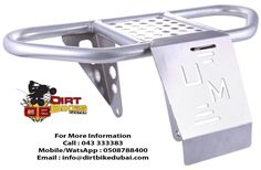 Dirt Bikes Center having promotion now a days on all its spare parts and accessories. Come and get it before the stocks gets out. UMR BUMPERS UMR bumpers are rugged and durable which will give your ATV added protection from trail hazards like rocks, trees or Bambi Each bumper offers a mud screen and is constructed of heavy duty aluminum with a brushed finish. Protect your investment and enhance its appearance too with UMR bumpers. Our products are also available on SOUQ.com