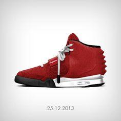 Nike Air Yeezy II x Supreme